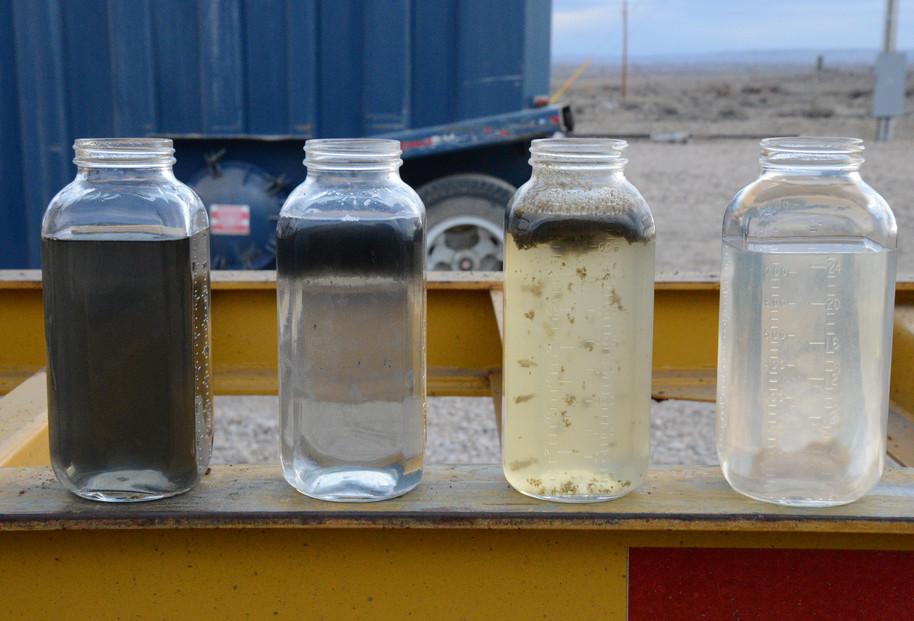 Очистка пластовых вод